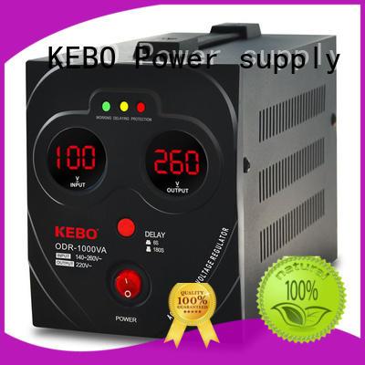 KEBO Brand water range voltage stabilizer for home desktop supplier