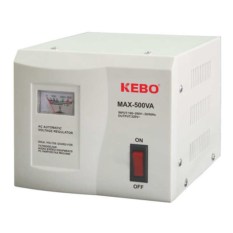 KEBO -Classical Type Meter Display 220v Voltage Stabiliser Max Series