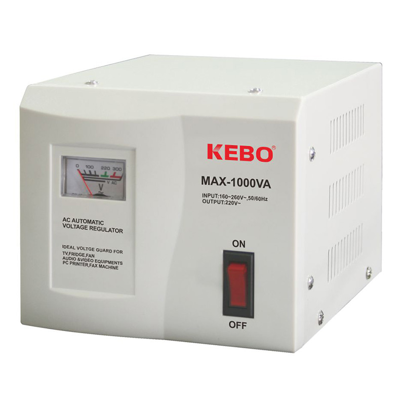 KEBO -Classical Type Meter Display 220v Voltage Stabiliser Max Series-2