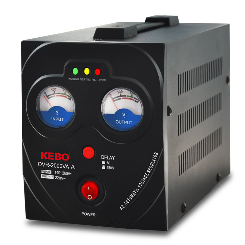 KEBO -Manufacturer Of Ac Stabilizer Kebo Factory Supply Avr Metal Case Odr -5