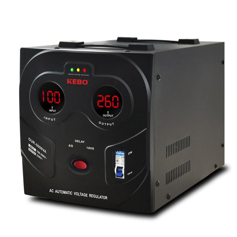 KEBO -Voltage Stabiliser | New Wide Regulation Range 80-260v Stabilizer Our Series-3