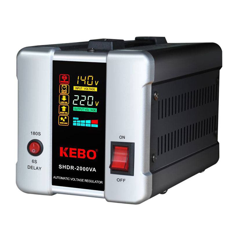 KEBO -voltage stabilizer for ac | Relay Type AVR | KEBO-1