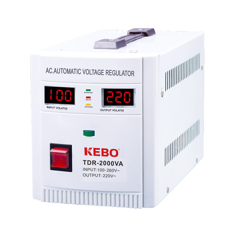 KEBO -Industrial Single Phase Relay Type Automatic Regulator Tdr | Kebo-1