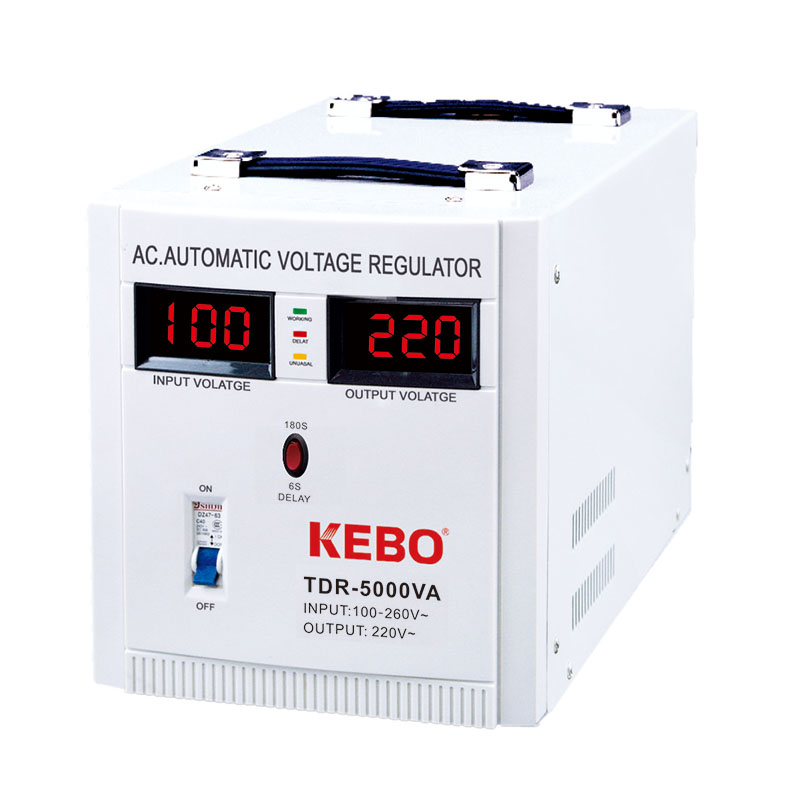 KEBO -Industrial Single Phase Relay Type Automatic Regulator Tdr | Kebo-2