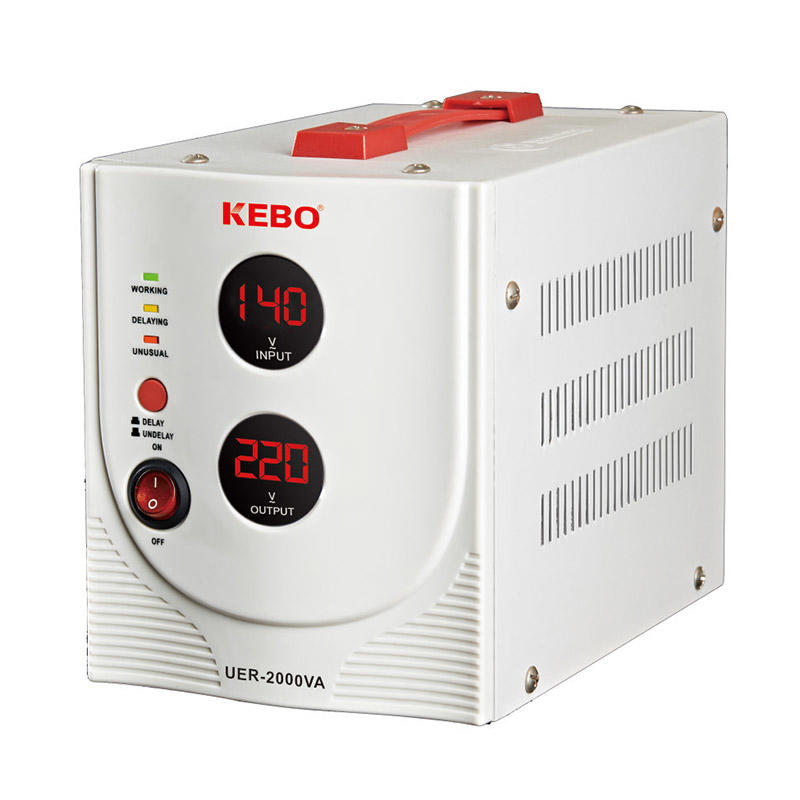SVC Automatic Stabilizer UER Series with High Efficiency Toroidal Transformer