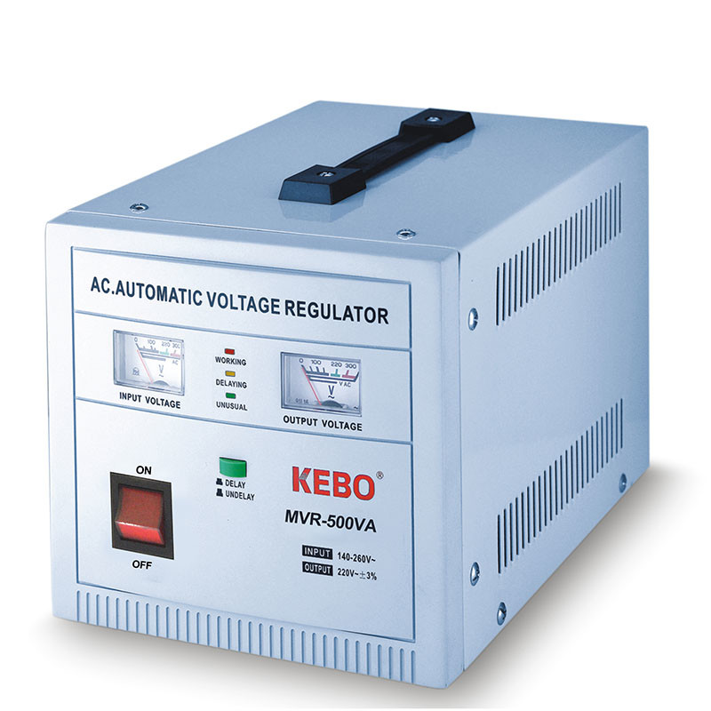 Single Phase Servo Stabilizer MVR series 140-260V with Meter Display