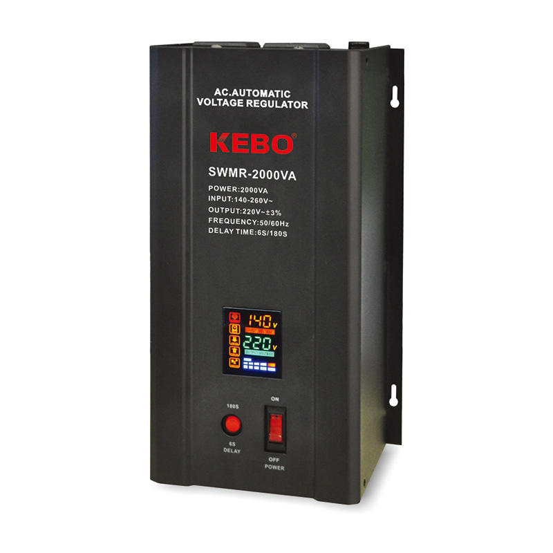 wallmount servo stabilizer meter KEBO company