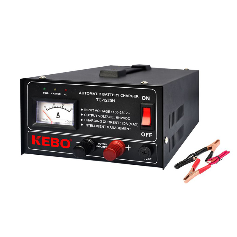 KEBO -3-steps High Frequency Automatic Battery Charger | Kebo