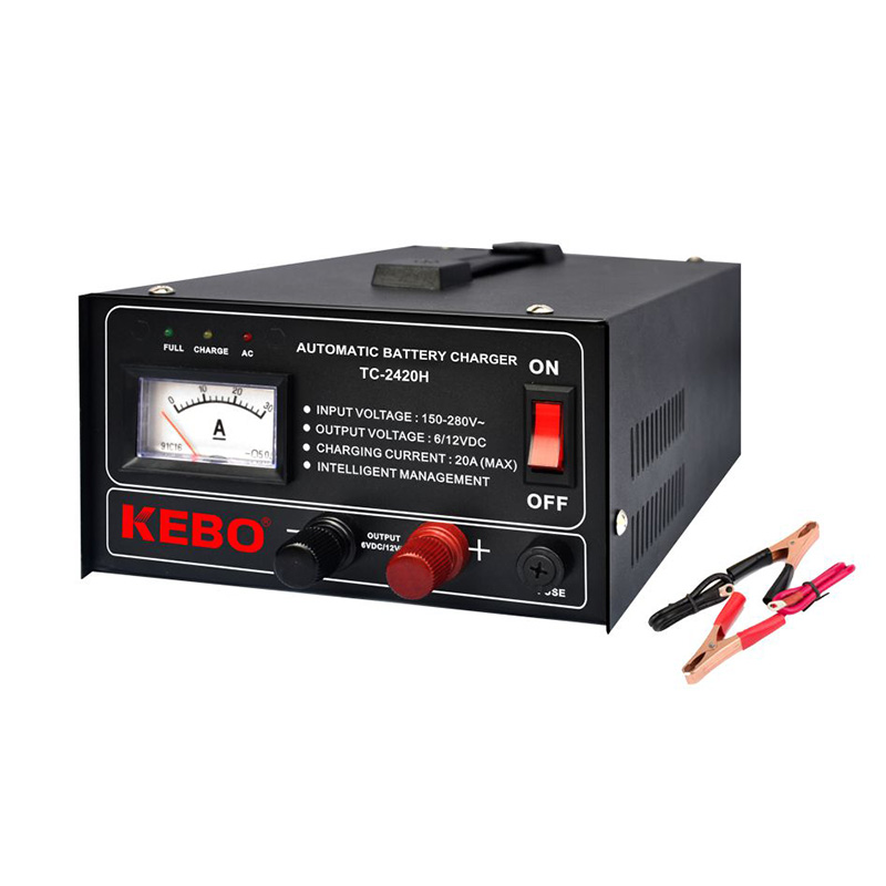 KEBO -3-steps High Frequency Automatic Battery Charger | Kebo-1