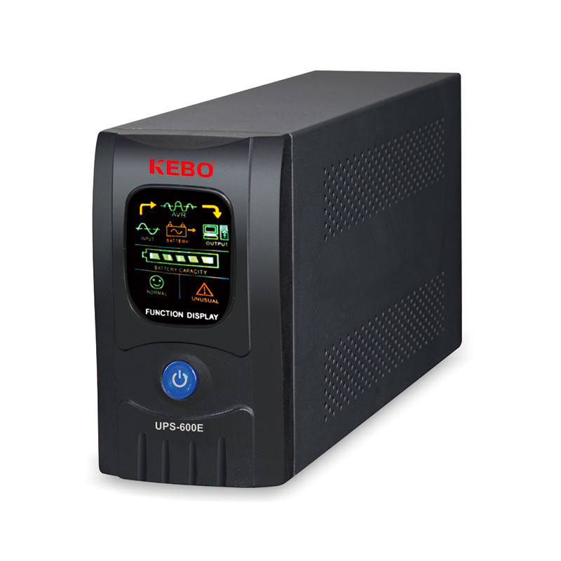 Single Phase Uninterruptible Backup Power UPS-600/650/1000/1200E Series