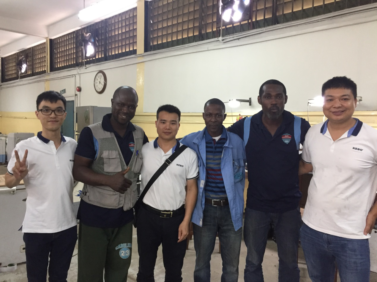 KEBO -2018-08 Nigeria Field Visit News About Low Dropout Voltage Regulator