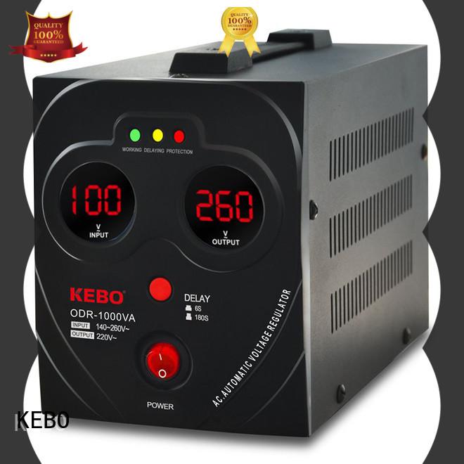 KEBO desktop automatic voltage stabilizer for home use manufacturer for indoor