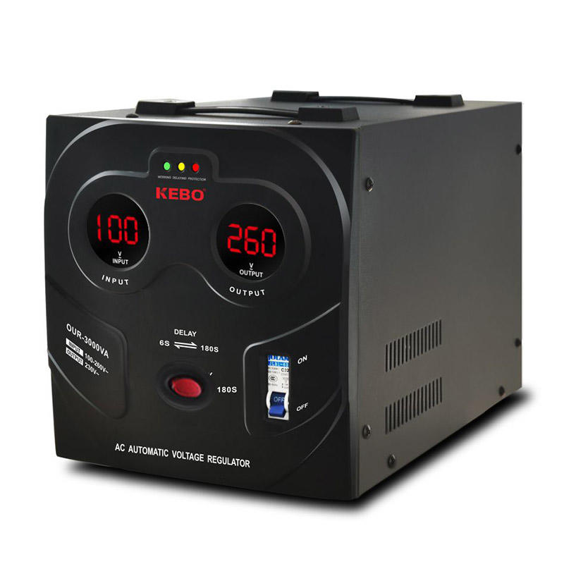 KEBO -Power Stabilizer New Wide Regulation Range 80-260v Stabilizer Our Series-2