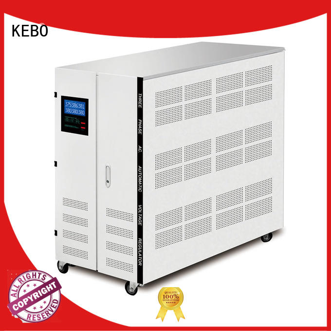 KEBO pdr10k15k20k30kva 3 phase stabilizer series for industry