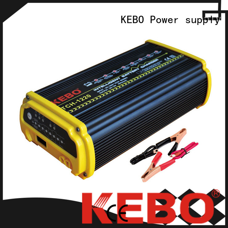 KEBO intelligent smart battery charger series for indoor