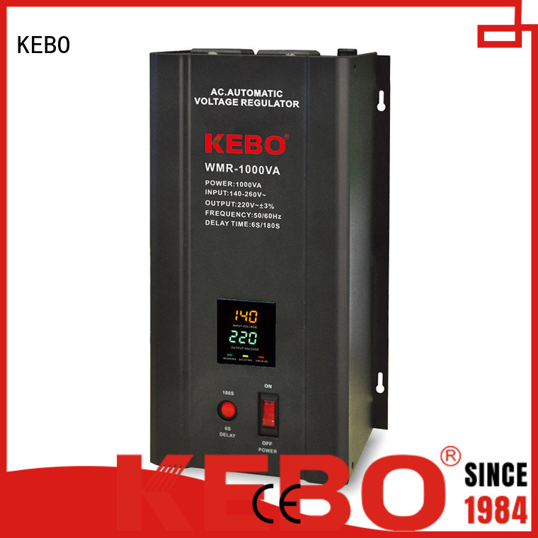 display wall KEBO Brand single phase servo voltage stabilizer factory