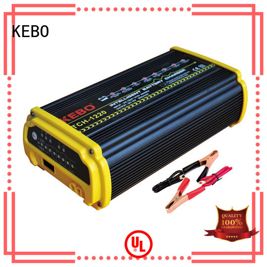 KEBO 3steps best rated battery charger supplier for indoor