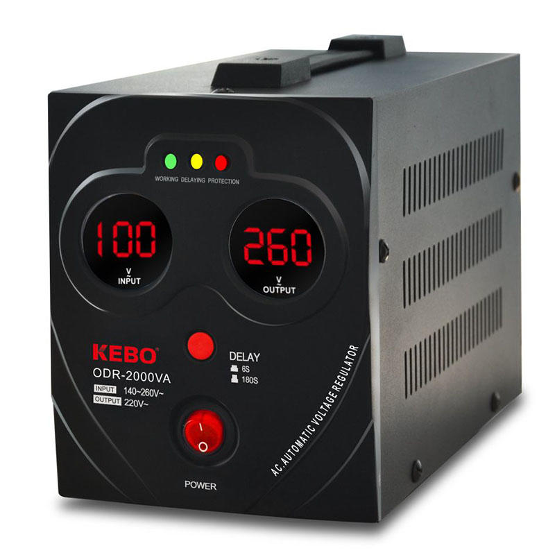 KEBO -Manufacturer Of Ac Stabilizer Kebo Factory Supply Avr Metal Case Odr -1