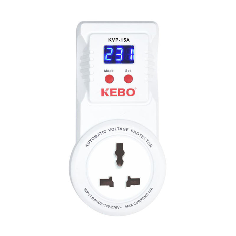 KEBO -Wall Mounted Automatic Power Voltage Protector Kvp Series 13a15a20a30a-1