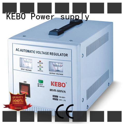 KEBO Brand meter regulator single phase servo voltage stabilizer mounted supplier