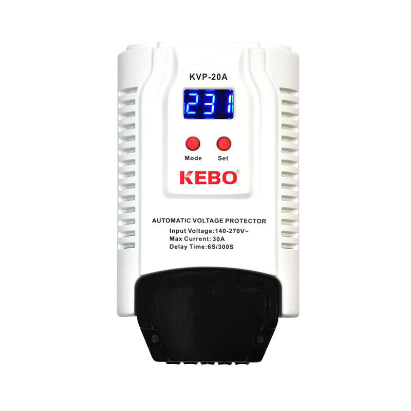 KEBO -Wall Mounted Automatic Power Voltage Protector Kvp Series 13a15a20a30a-2