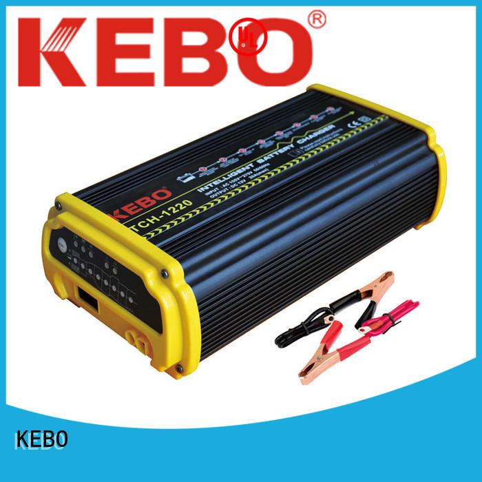 3steps intelligent charger manufacturer for industry KEBO