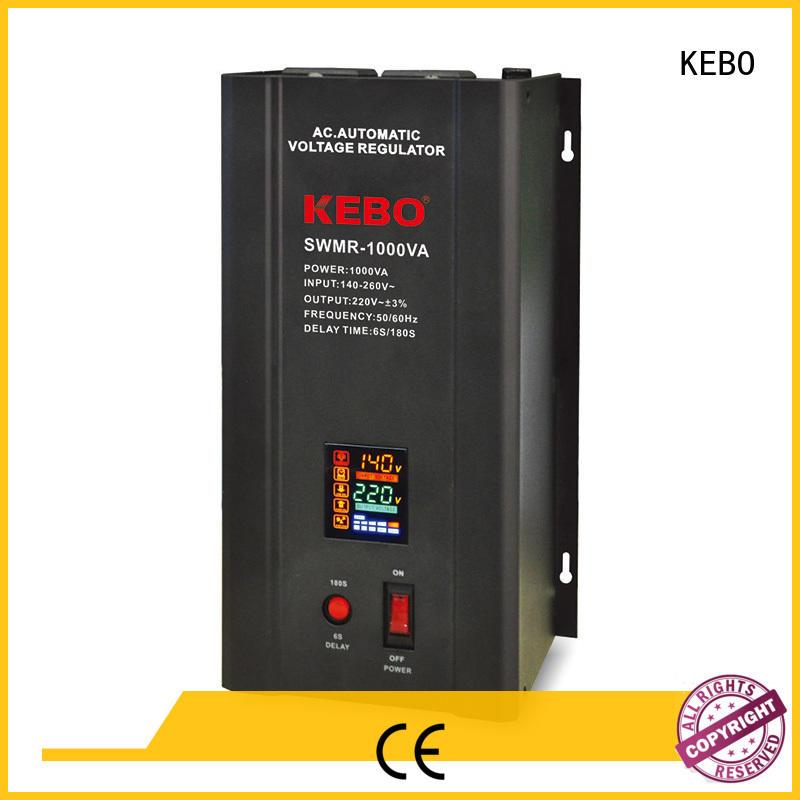 KEBO professional servo voltage stabilizer manufacturer power for indoor