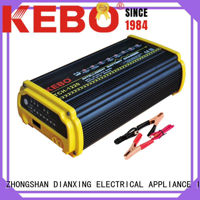 KEBO professional smart battery charger series for indoor