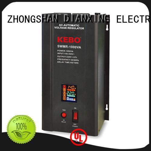 single phase servo voltage stabilizer wallmount servo stabilizer KEBO Brand