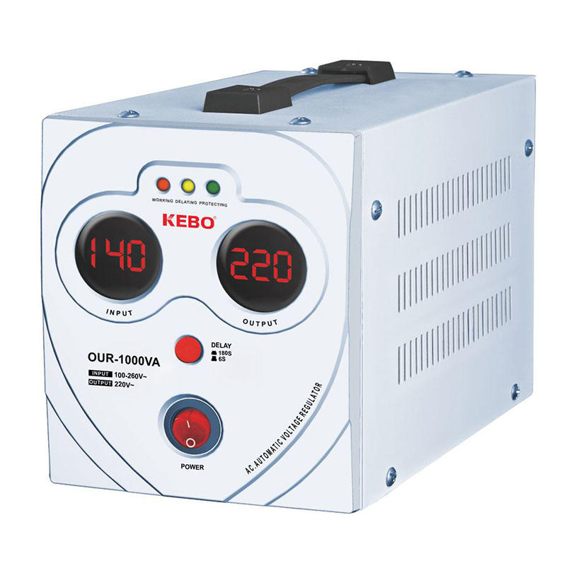 KEBO -Power Stabilizer New Wide Regulation Range 80-260v Stabilizer Our Series