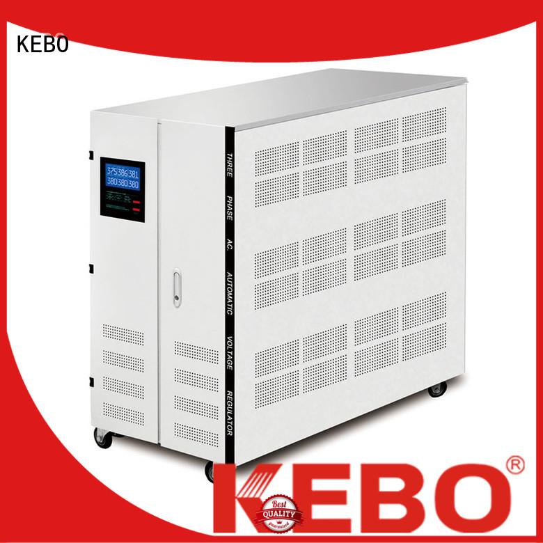 KEBO digital 3 phase voltage stabilizer control for industry