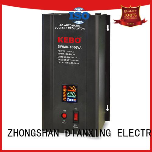 single phase servo voltage stabilizer wall series advanced KEBO Brand