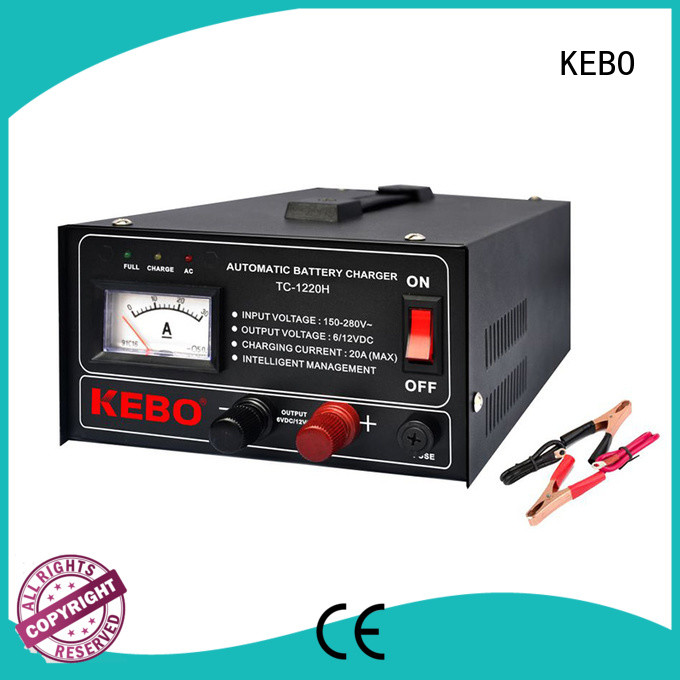 KEBO high quality automatic battery charger manufacturer for indoor