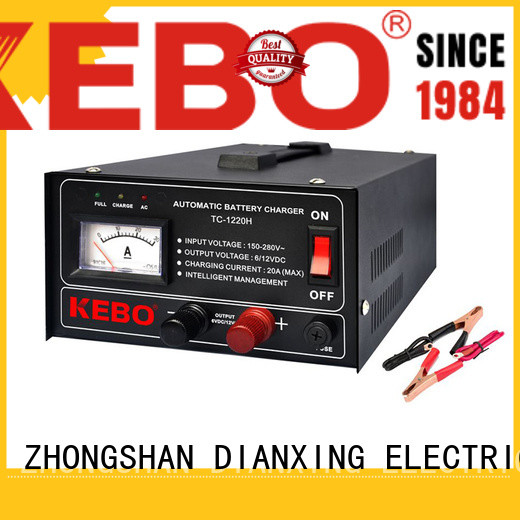 KEBO Top cost of battery charger for car wholesale for indoor