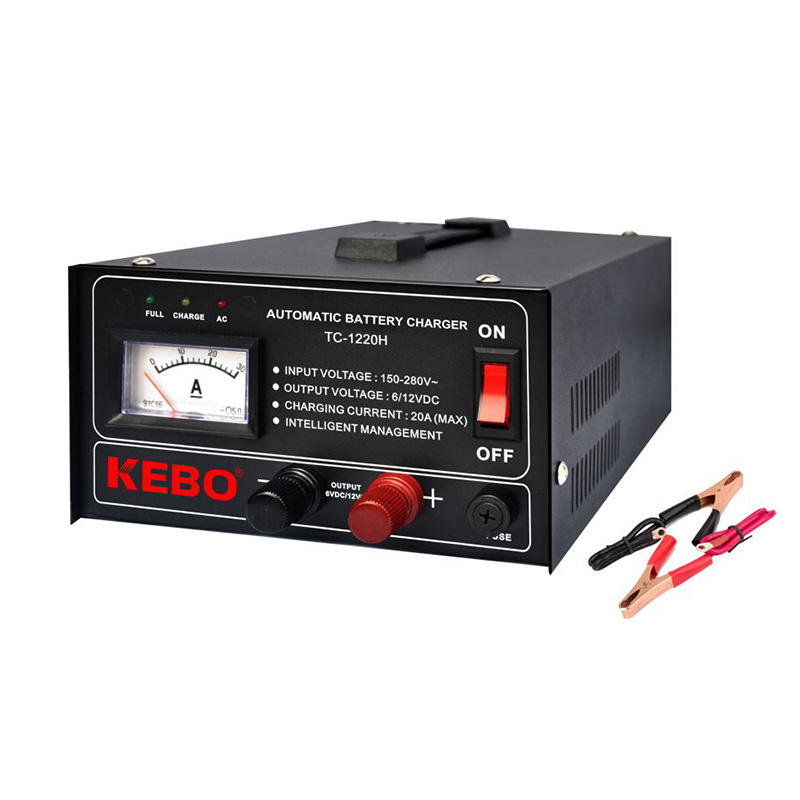 KEBO -Find Automatic Battery Charger 3-steps High Frequency Automatic Battery