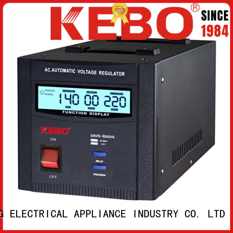 output single KEBO Brand single phase servo voltage stabilizer