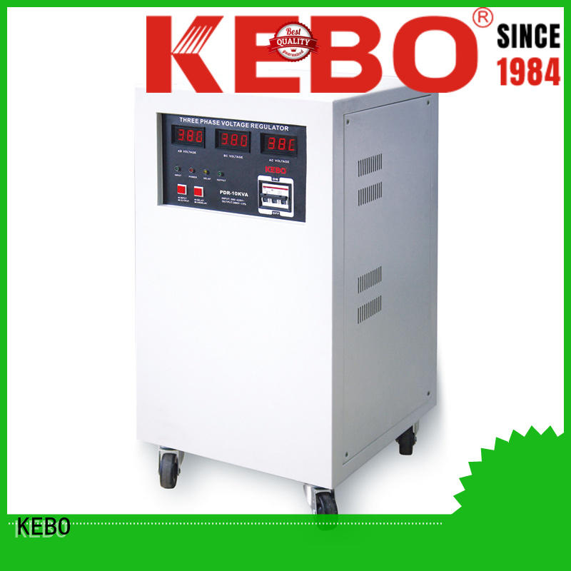 KEBO Brand motor stabilizer custom three phase voltage regulator