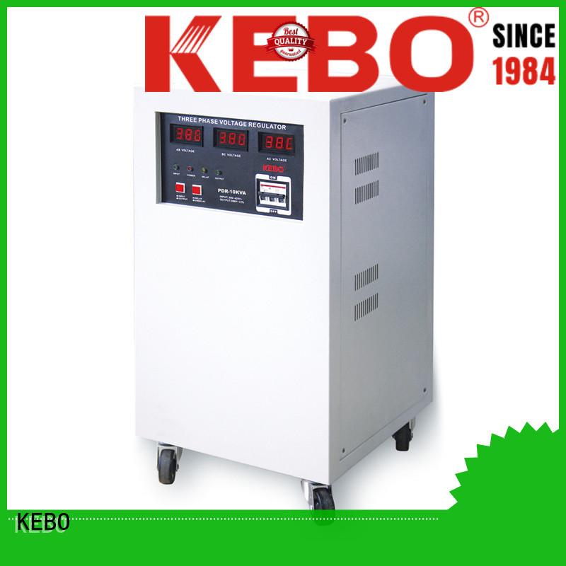 KEBO Brand motor stabilizer custom three phase voltage regulator