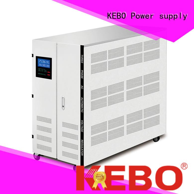 stabilizer phase triac KEBO Brand three phase voltage regulator manufacture