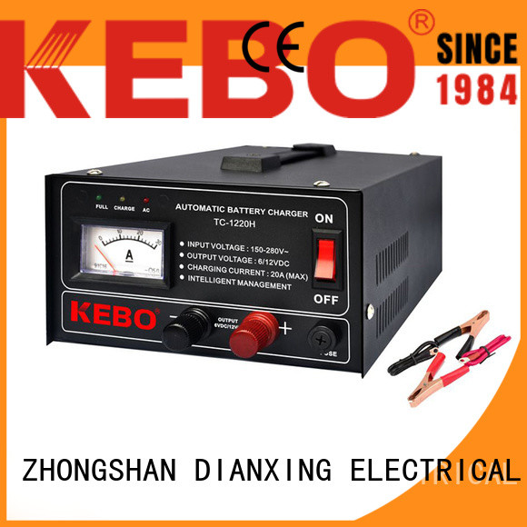 KEBO automatic car battery charger brands Supply for industry