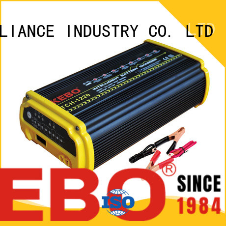 KEBO safety 12 volt auto battery charger wholesale for industry