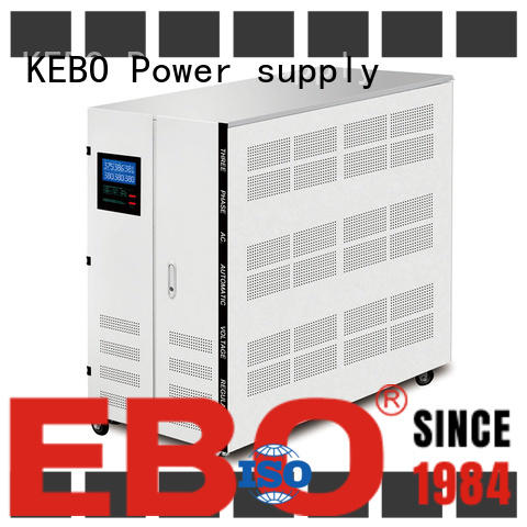 KEBO thyristor three phase stabilizer manufacturer for industry