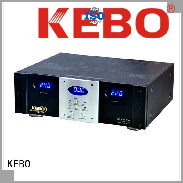 KEBO america ac voltage regulator manufacturer for indoor