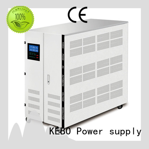 three 3 phase stabilizer series for indoor KEBO