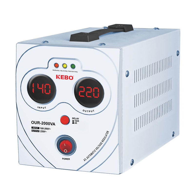 KEBO -Power Stabilizer New Wide Regulation Range 80-260v Stabilizer Our Series-1