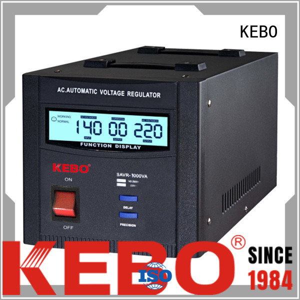 single phase servo voltage stabilizer mounted phase wall KEBO Brand company