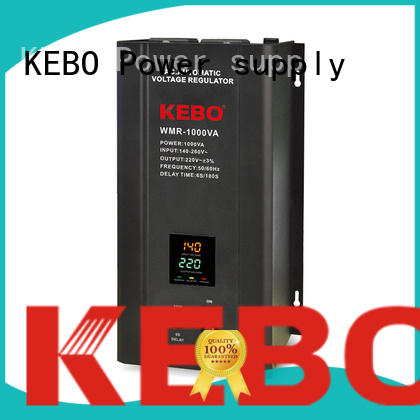 KEBO Brand automatic single regulator output servo stabilizer