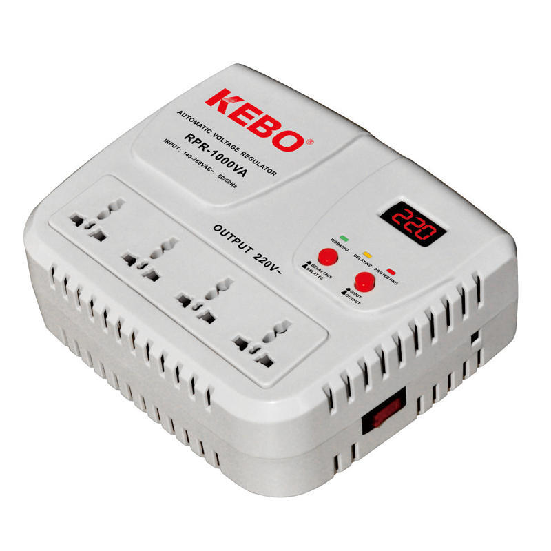 Relay Type AVR of  KEBO Video Show