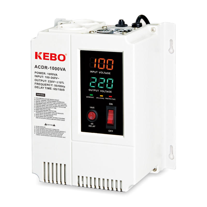 KEBO -Manufacturer Of Avr Regulator Wall Mounted Relay Type Acdr 05k-10kva Voltage