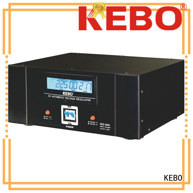 Wholesale display single phase servo voltage stabilizer ultra KEBO Brand